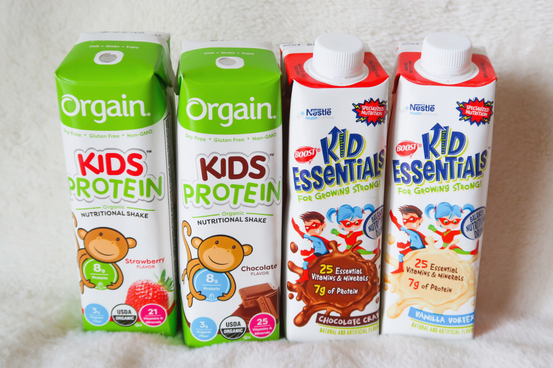 Which Kids Nutrition Shake Should I Choose: Orgain Kids Protein Or Boost Kids Essentials?